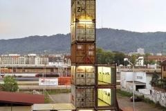 Príklad ideálneho uloženia kontajnerov